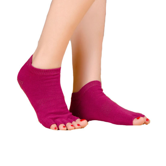 Cotton Blend Toeless Argyle Over The Knee Socks