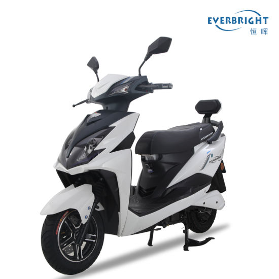 Wholesale 2400W Two Wheel EEC E Scooter Electric Motorcycle with Lithium Battery