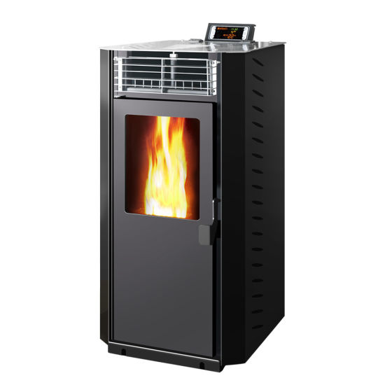 Black Color Pellet Stove with Ce Certificate
