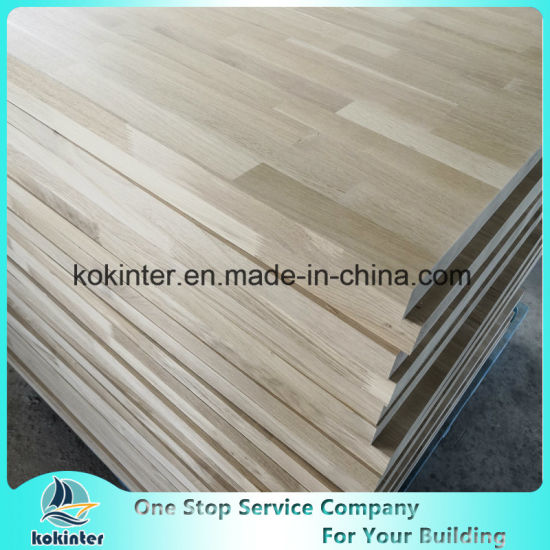 White Oak Finger Joint Board / White Oak Fjp /Finger Joint Wood Panel