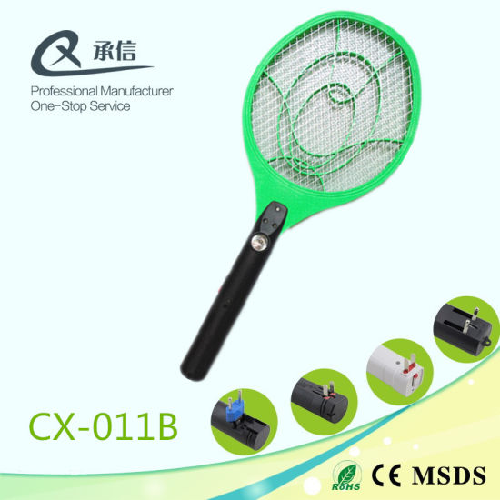 China Multi Function Electric Mosquito Killer Racket With Led Light
