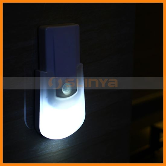 Energy Saving LED Night Light Detachable Flashlight Battery Hallway Wall Lamp