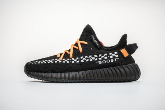 d61c3af918807 Hightest Quality off White Adi Yz 350 Boost V2 Black Sport Casual Running  Shoes