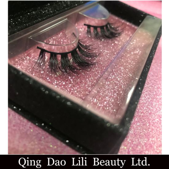 8d0ad7cda59 100% Vegan 3D Looking Synthetic Faux Mink Strip Lash for Makeup Artist  pictures & photos