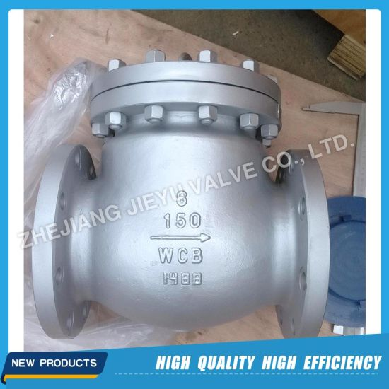Industrial Cast Steel Flanged Swing Check Valve Non-Return Valve pictures & photos