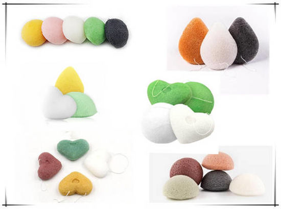 Pure Konjac Sponge for Baby Bath pictures & photos