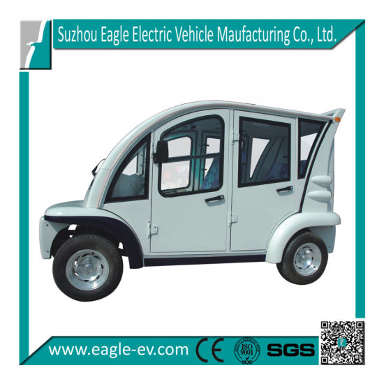 Electric Car, 4 Seats, Closed, CE Approved