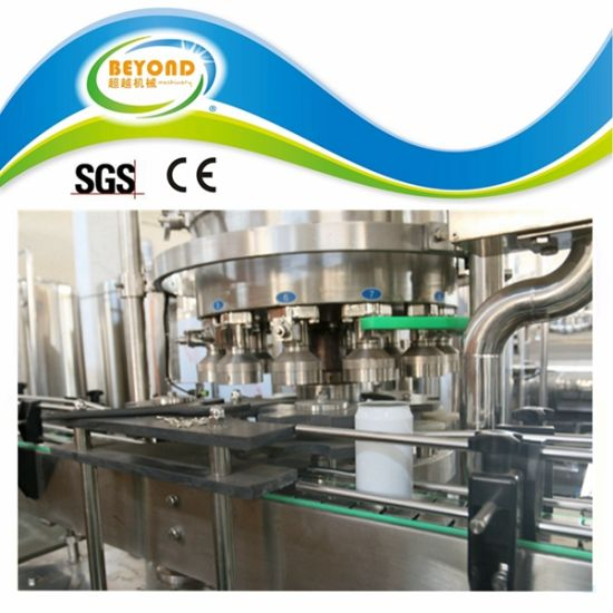 Can Beverage Negative Pressure Filling Machine pictures & photos
