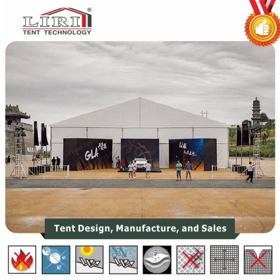 China 20X20 Liri Giant Aluminium Frame Marquee Tent for Exhibition ...