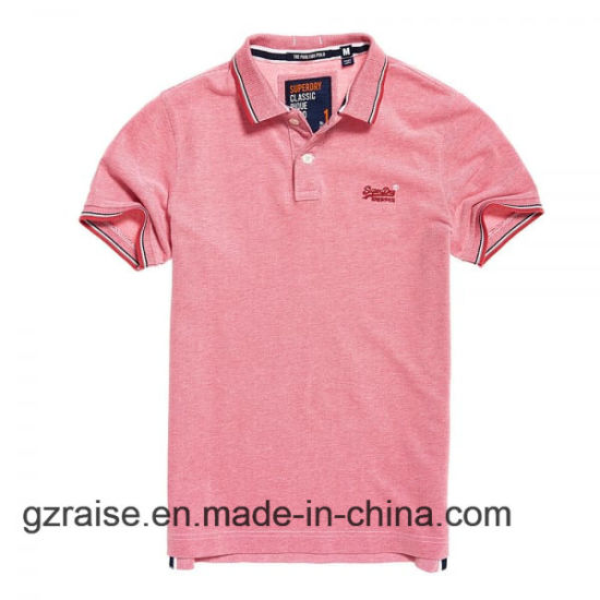 China 2018 Casul Man Golf Polo Shirt With Embroidery Logo China
