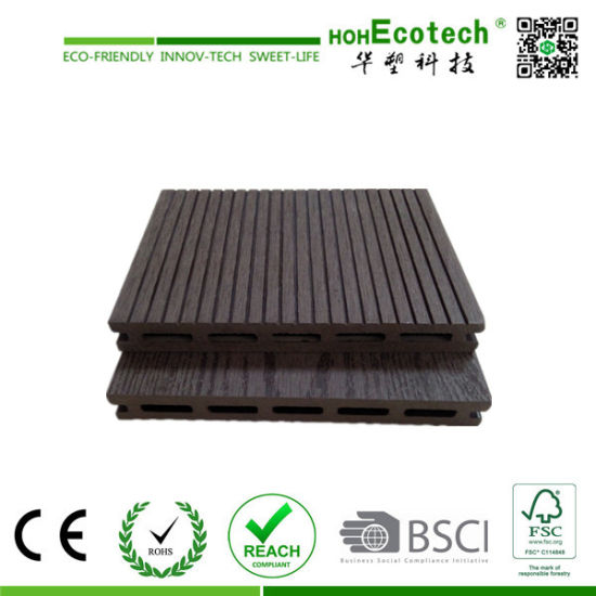WPC Decking Prices Hollow and Grooved Composite Flooring pictures & photos