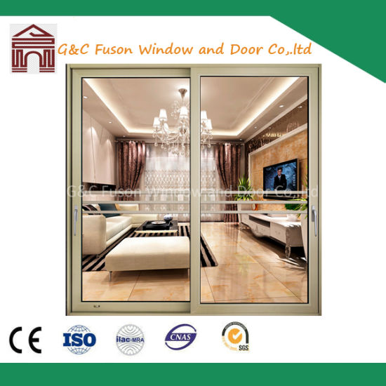 China 20 Thickness Aluminium Garage Sliding Screen Door China