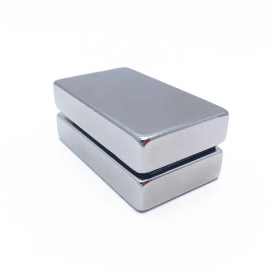 Sintered N52 Neodymium Block Rare Earth Permanent Magnets for Printer