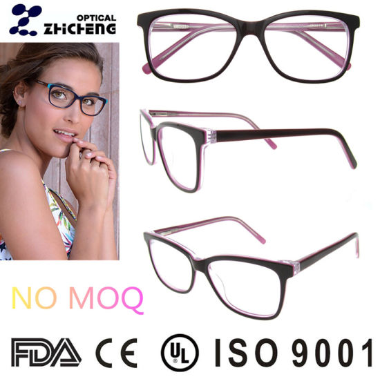 ce092e253a1 All Face Shape Latest Branded Beautiful Black Square Spectacle Frame  pictures   photos