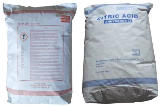 Citric Acid Anhydrous, Citric Acid Monohydrate, Sodium Citrate