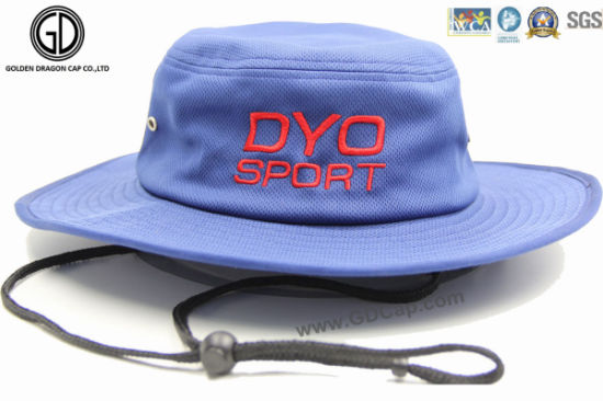 c034763cce592 Popular Polyester Bucket Hat  Sun Hat  Fish Hat with Embroidery pictures    photos