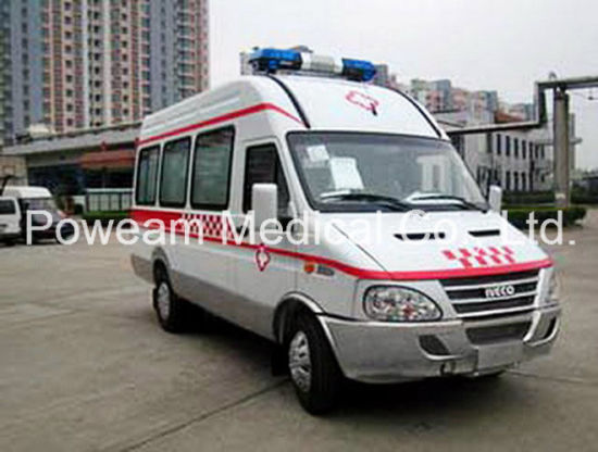 First Aid Iveco Hospital Patient Transport Ambulance (CHJX4405JN)