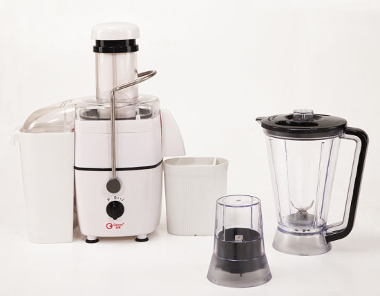 450W Powerful Food Processor: Juicer, Blender, Dry Mill