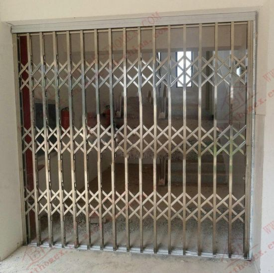 High Quality Stainless Steel Sliding Grille Door (BHS-DA02) pictures & photos