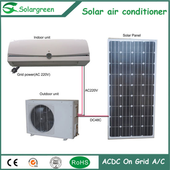 Acdc Energy Saving Wall No Noise System Solar Air Conditioner pictures & photos