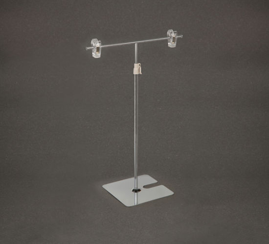 Metal Base Tabletop Poster Display Stand pictures & photos