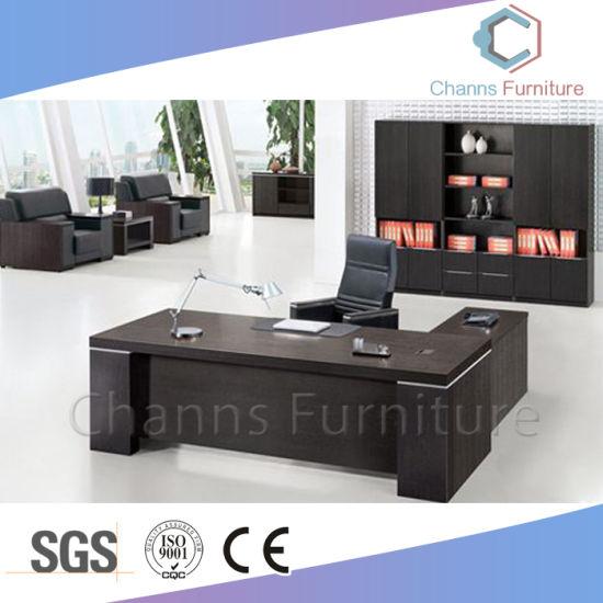 Modern Black Executive Desk Boss Table Cas Md1899