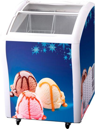 Counter Top Small Ice Cream Mini Freezer