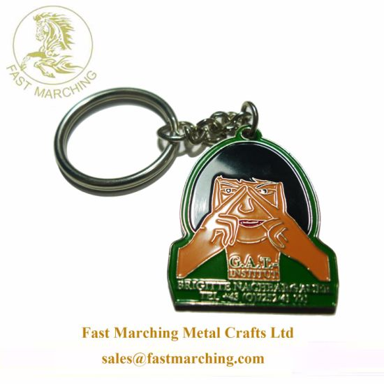Wholesale Custom Personalized Gifts Engraved Enamel Made Keychains for  Girlfriend