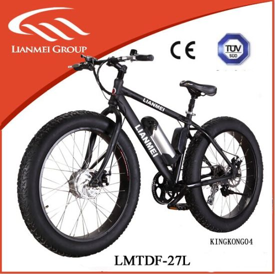2016 Hot Sale Fat Tyre Ebike for Sale 26′′ Aluminium Alloy No Folding Modern Hot Sale 48V 10ah Electric Bike Fat pictures & photos