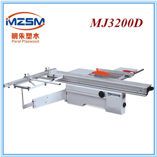 Mj6132ty Model Sliding Tale Saw Machine Wood Cutting Machine pictures & photos