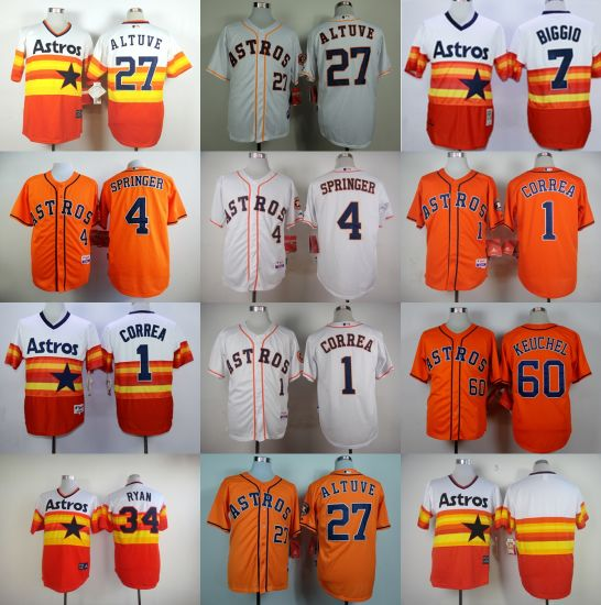 7fa2740bd China Customized American League Houston Astros Cool Base Baseball ...