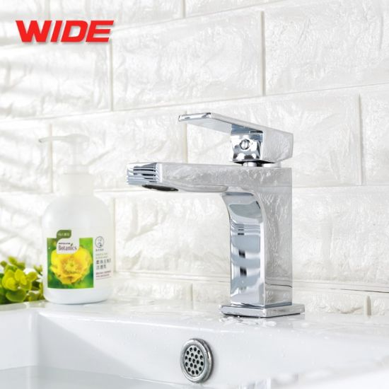 China Best Price Brass Bathroom Basin Mixer with Single Function pictures & photos