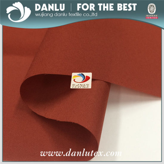 100%RPET 190t Pongee Fabric with PU Coating for Lining, Umbrella