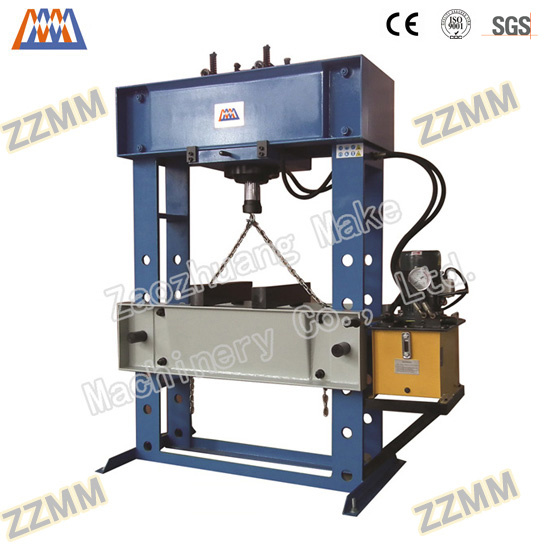European Type Manual Electric Hydraulic Press (HP-100S/D) pictures & photos