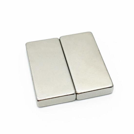 Powerful Neodymium Rare Earth N52 Block NdFeB Magnet for Printer