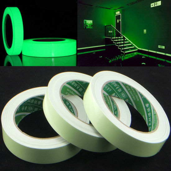 China 15mm X 3m Roll Luminous Tape Self Adhesive Glow In The Dark