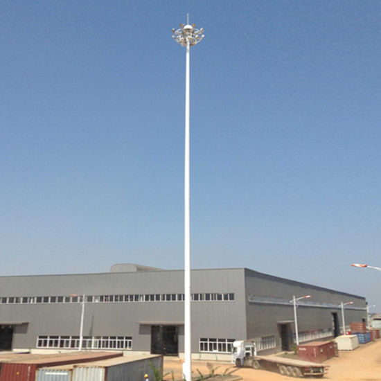 China 15m High Mast Lighting Pole,20m High Mast Lighting Pole,25m