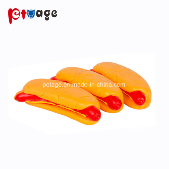 Hot Dog Toys Pet Vinyl Toys Dog Supplier