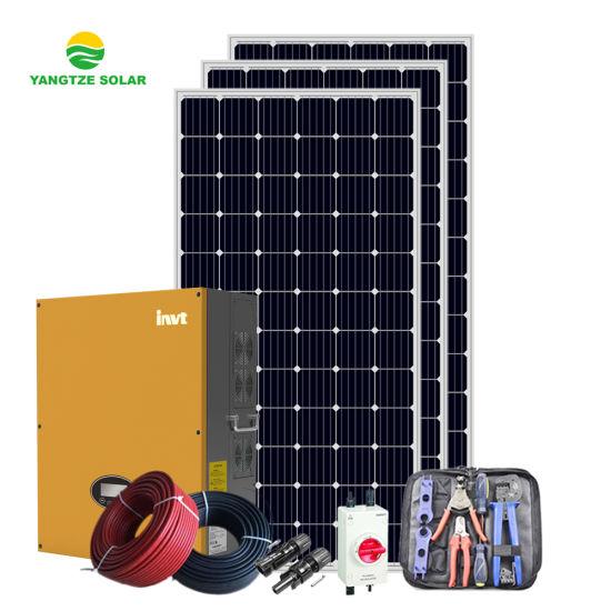Yangtze 10kw on Grid Home Solar Power System