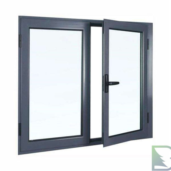 2019 Latest Product of High Quality Double Glass Insulated Aluminum Casement Window /Door with Tailor Specially