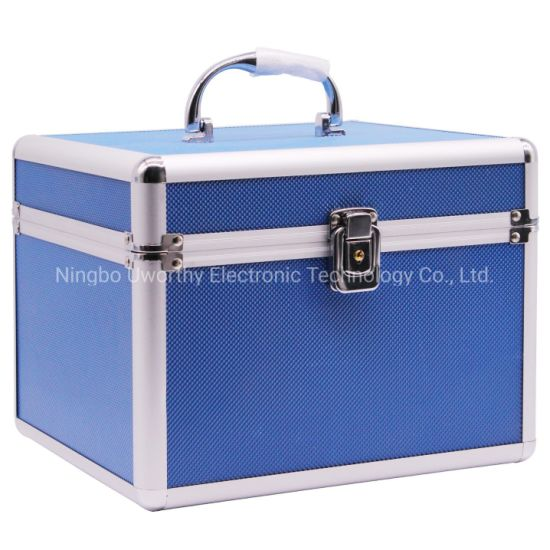 Hot Sale OEM Storage Box Aluminum Hard Carrying Case with Foam