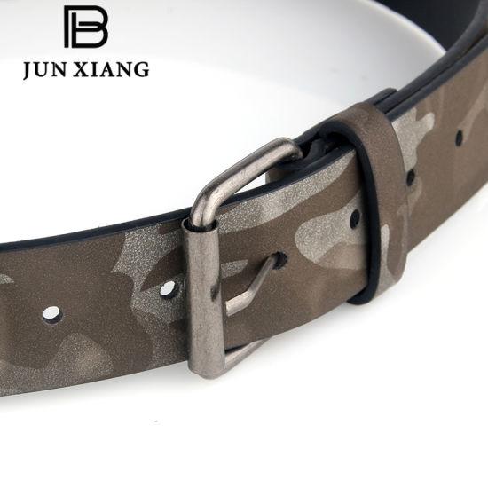China Fashion Men′s Camouflage PU Military Belt - China Belt