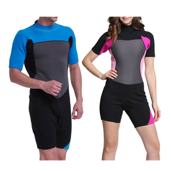 Custom Latest Summer Neoprene Suit Dry Diving Suit Couples Surfing Wetsuits