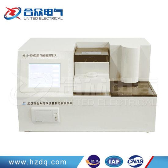 Oil Acidity Value Tester / Acid Number Analyzer Petroleum Products Acid Value Test Machine