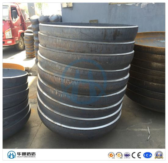 Steel Butt Welded Pipe End Cap ANSI B16.9