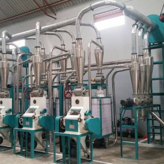 China 20t/24h Mombasa Maize Millers Price Kenya Posho Mill