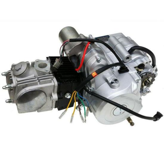 125cc engine motor kit wiring harness 3 speed reverse for atv quad go kart  air cooled 4 stroke