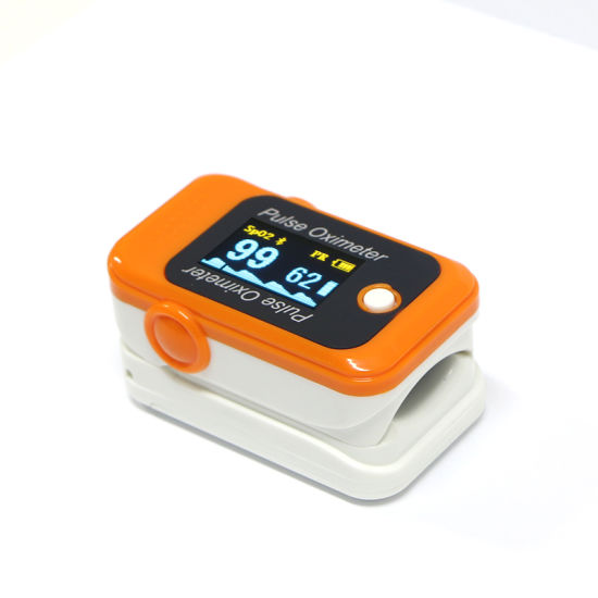 CE Mark Mini Finger Blood Oxygen/Pulse Rate Testing Machine