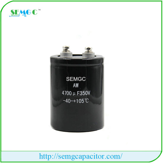 350V 4700UF Electrolytic Capacitor at Promotion Price Hot Motor pictures & photos