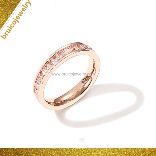 Latest Design Sterling Silver Jewelry Ring For Women Simple Ring